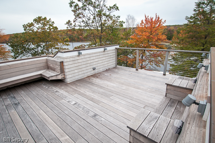 Roof deck with IPE decking & benches