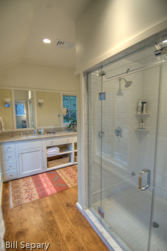 Dezignbuild llc for Build steam shower